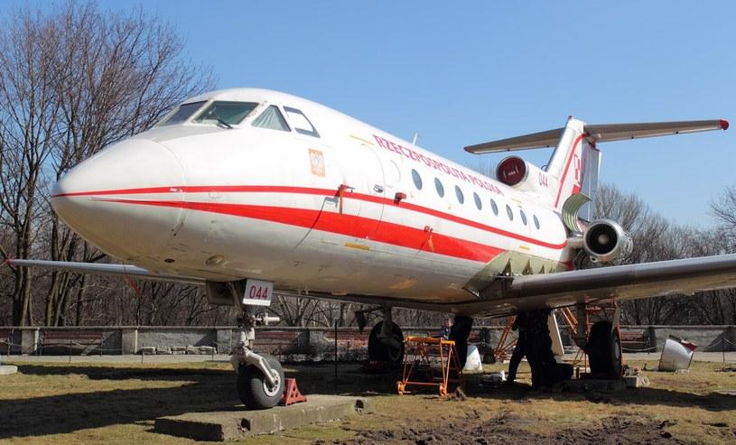 Jak-40 nr boczny 044 w Muzeum Wojska Polskiego /Jan Kucharzyk /East News
