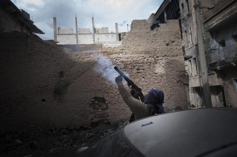 Jak daleko mogą posunąć się syryjscy bojownicy? /AFP