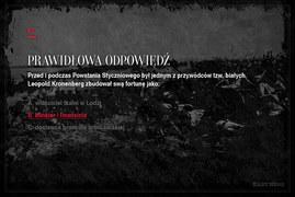 Jak dobrze znasz historię polskich powstań? (cz. 4)