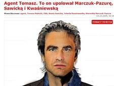 """Jak """"Fakt"""" wyobrażał sobie agenta Tomka w 2009 roku, zanim ujawniono jego wizerunek?"""