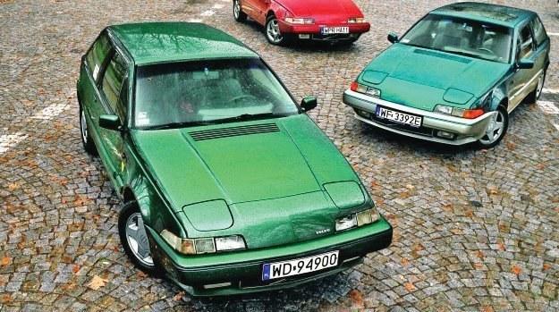 Jak pokazuje praktyka, Volvo 480 to idealne auto na co dzień. /Motor