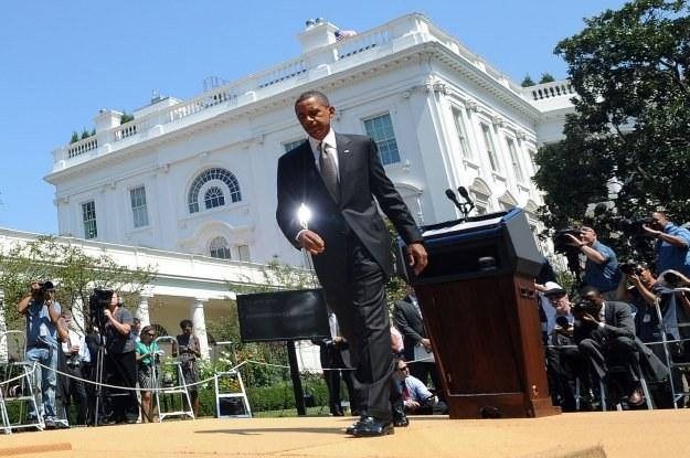 Jak problem z zaginionymi mailami rozwiąże administracja Obamy? /AFP