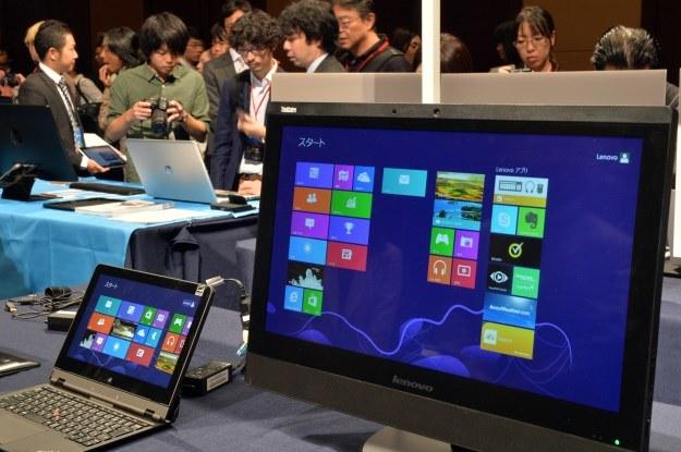 Jak sprzedaje się Windows 8? Mogło być lepiej... /AFP