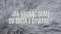 Jak usunąć gumę do żucia z dywanu?