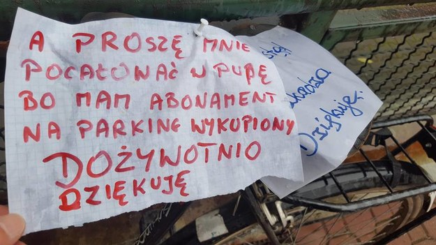 Jak widać, odpowiedź ma  dość frywolny charakter, jednak w sumie przyjazny /poboczem.pl