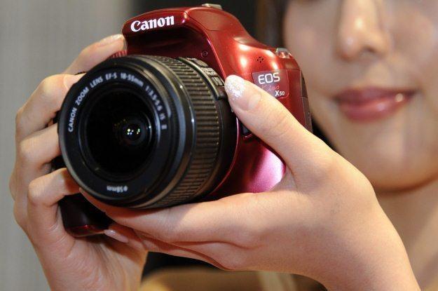 Jak wielki wpływ na Canona będzie miał kataklizm w Japonii? /AFP