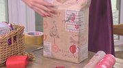 Jak wykonać ozdobny wachlarz z papieru do pakowania?