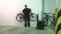 Jak zawiesić rower na ścianie?