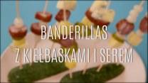 Jak zrobić banderillas z kiełbaskami i serem?