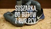 Jak zrobić sprytną suszarkę do butów?