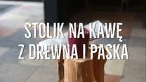 Jak zrobić stolik na kawę z kawałków drewna?