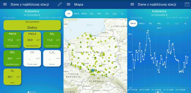 Jakość powietrza w Polsce / inf. prasowa /&nbsp