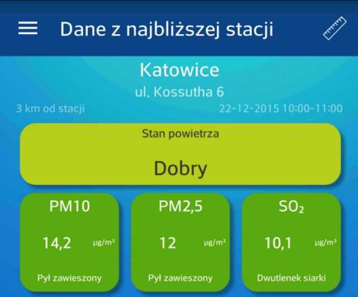 Jakość powietrza w Polsce /materiały prasowe