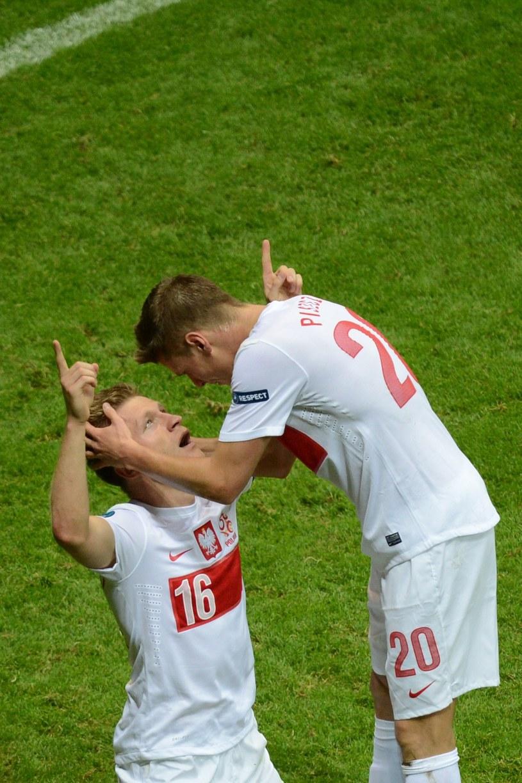 Jakub Błaszczykowski i Łukasz Piszczek rozumieją się bez słów! /AFP