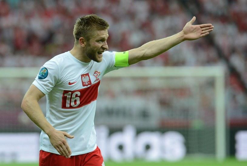 Jakub Błaszczykowski, kapitan reprezentacji Polski /AFP