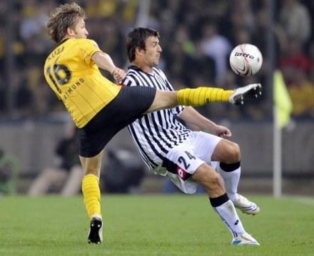 Jakub Błaszczykowski - ulubieniec fanów z Dortmundu. /AFP