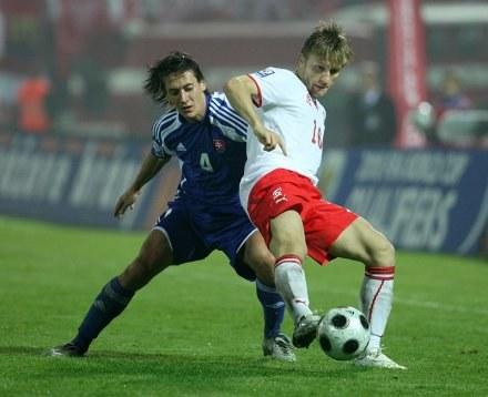 Jakub Błaszczykowski w meczu ze Słowacją. /ASInfo