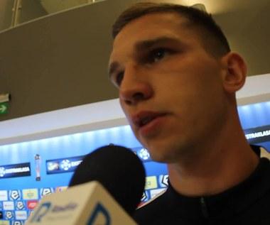 Jakub Świerczok po meczu Lech - Zagłębie Lubin (1-1). Wideo