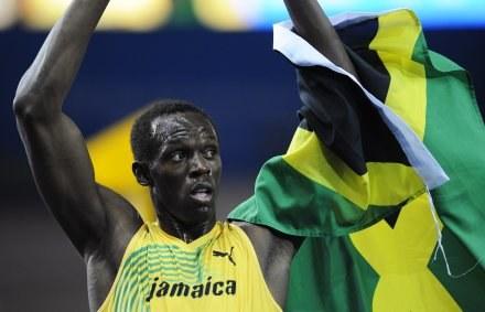 Jamajczyk Usain Bolt /AFP