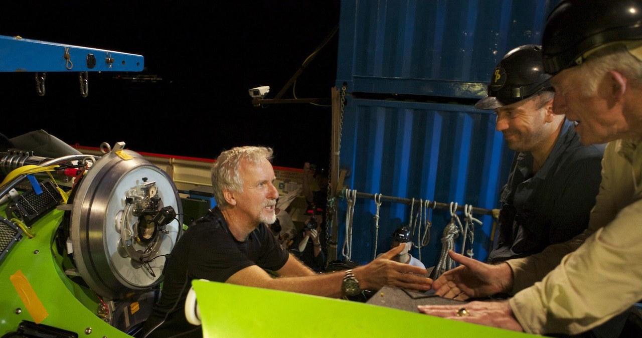 James Cameron dotarł na dno Rowu Mariańskiego
