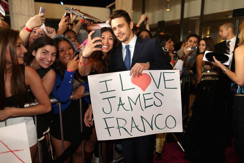 James Franco stał się nowym idolem nastolatek /Getty Images/Flash Press Media