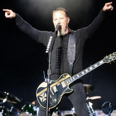 "James Hetfield (Metallica): ""Ach śpij kochanie..."" /arch. AFP"