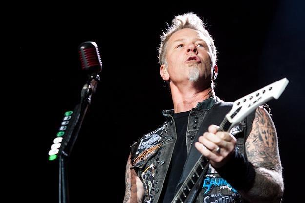 James Hetfield (Metallica) na Sonisphere 2012 /fot. Bartosz Nowicki/www.bartosznowicki.pl