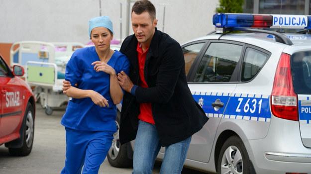 James (Jake Michaels) i Hana (Kamilla Baar) /fot  /Agencja W. Impact