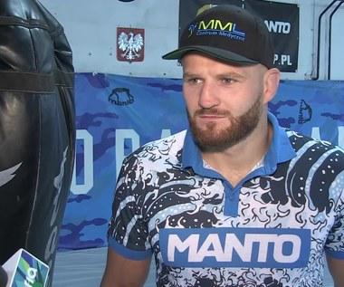Jan Błachowicz o walce na gali UFC w Ergo Arenie. Wideo
