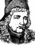 Jan Długosz, rys. Jan Matejko /Encyklopedia Internautica