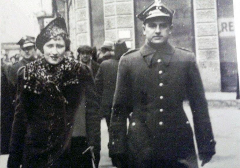 Jan Dubaniowski z żoną Bolesławą, archiwum Marii Dubaniowskiej-Guzdek /