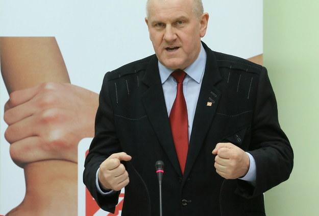 Jan Guz, szef OPZZ /PAP