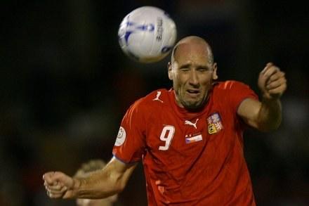 Jan Koller uratował remis dla Czechów /AFP