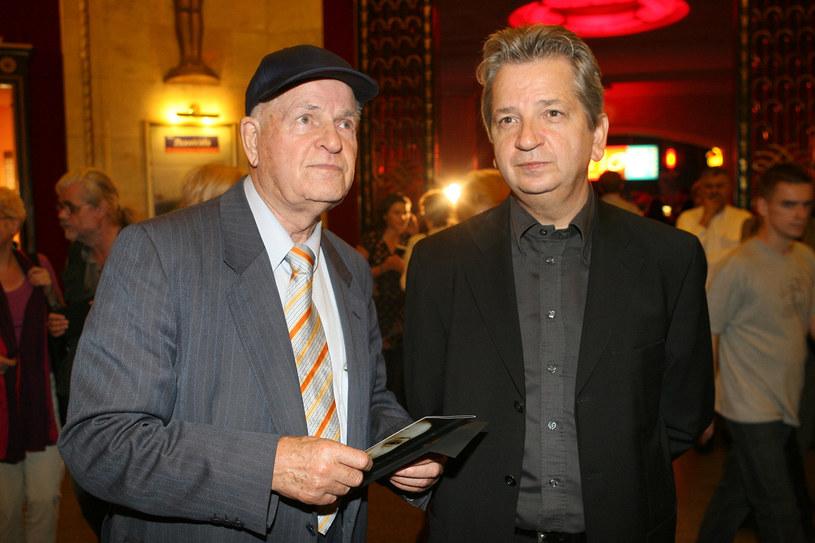 Jan Machulski i Juliusz Machulski w 2006 roku /AKPA