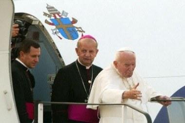 Jan Paweł II był największym podróżnikiem wśród papieży /AFP
