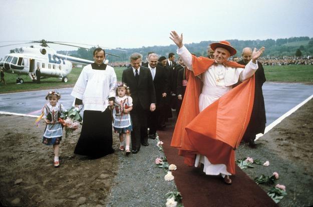 Jan Paweł II. Fot. Jan Morek /Agencja FORUM