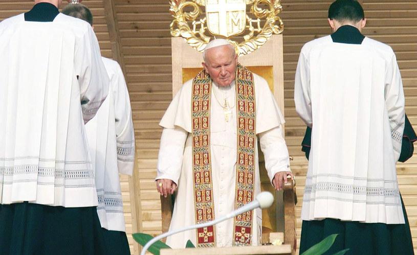 Jan Paweł II w Drohiczynie, 1999 rok /AFP /AFP