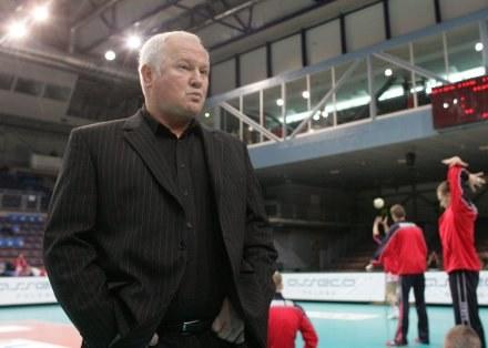 Jan Such nadal będzie trenerem Resovii Fot. Łukasz Grochala /Agencja Przegląd Sportowy