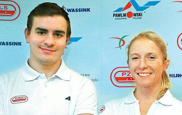 Jan Szymański, Luiza Złotkowska /Rewia