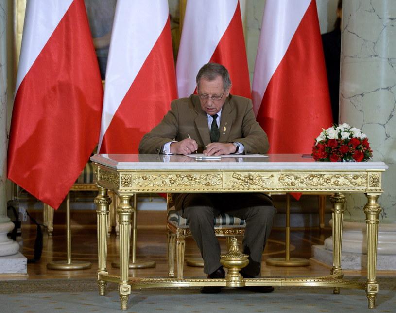 Jan Szyszko znów jest ministrem środowiska /Jacek Turczyk /PAP