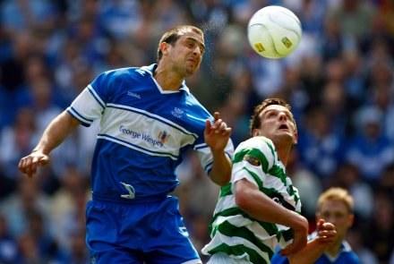 Jan Vennegoor of Hesselink (z prawej) doprowadził Celtic do finału/fot. Jeff J. Mitchell /