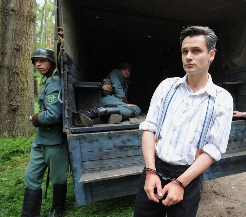 """Jan Wieczorkowski w """"Czasie honoru"""": Więzień jednej roli? /Piotr Bławicki /East News"""