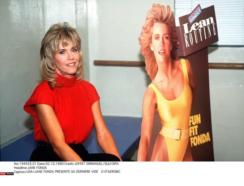 Jane Fonda - prekursorka aerobiku /Joffet Emmanuel  /East News