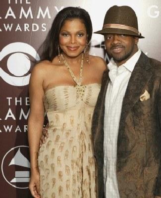 Janet Jackson i Jermaine Dupri /arch. AFP