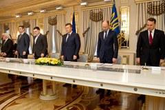 Janukowycz i liderzy opozycji podpisali porozumienie