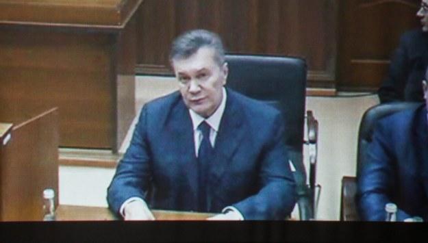 Janukowycz: To źle, że Krym odłączył się od Ukrainy