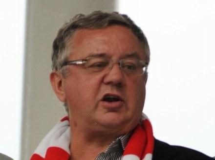 Janusz Filipiak nie ma ostatnio dobrego zdania o polskich piłkarzach. fot. Maciej Gillert /Agencja Przegląd Sportowy