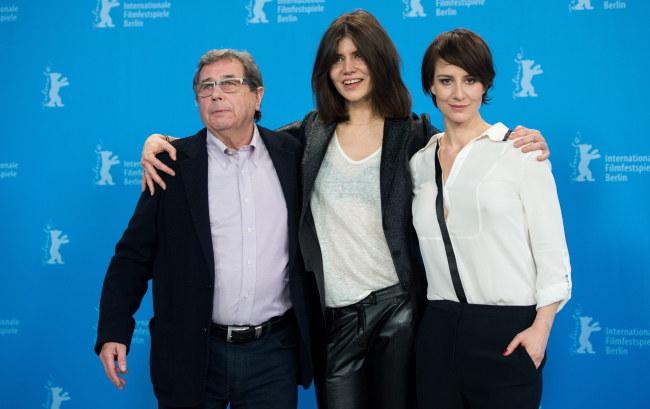 Janusz Gajos, Małgorzata Szumowska i Maja Ostaszewska /PAP/EPA/LUKAS SCHULZE /PAP/EPA
