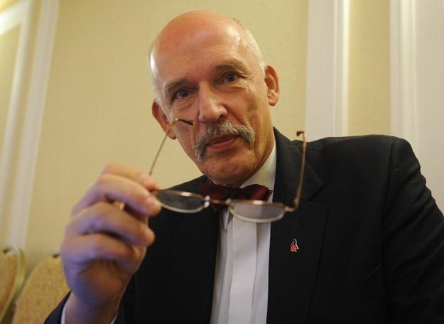 Janusz Korwin-Mikke / fot. W. Rozbicki /Reporter