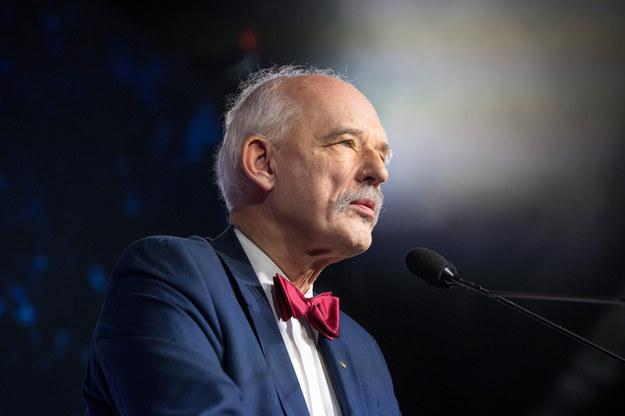 Janusz Korwin-Mikke na zjeździe elektorów Konfederacji /Michał Woźniak /East News